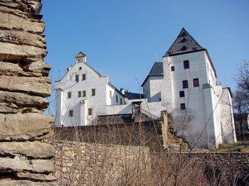 Schloss Wolkenstein im Erzgebirge