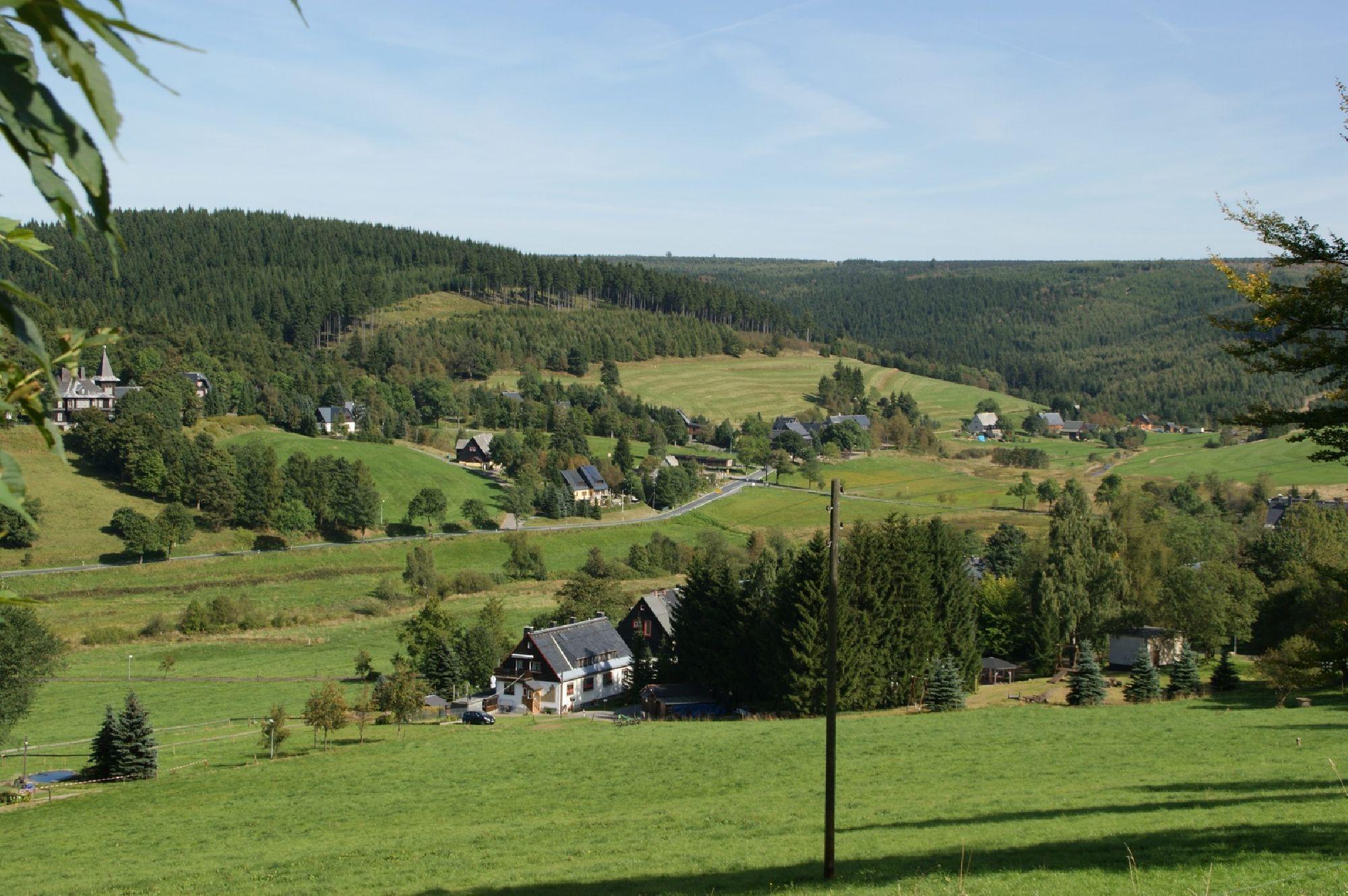 Ausblick vom böhmischen Stürmerberg
