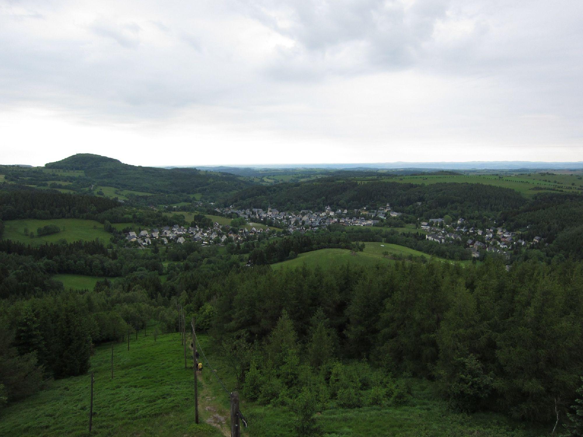 Aussicht vom Kahleberg