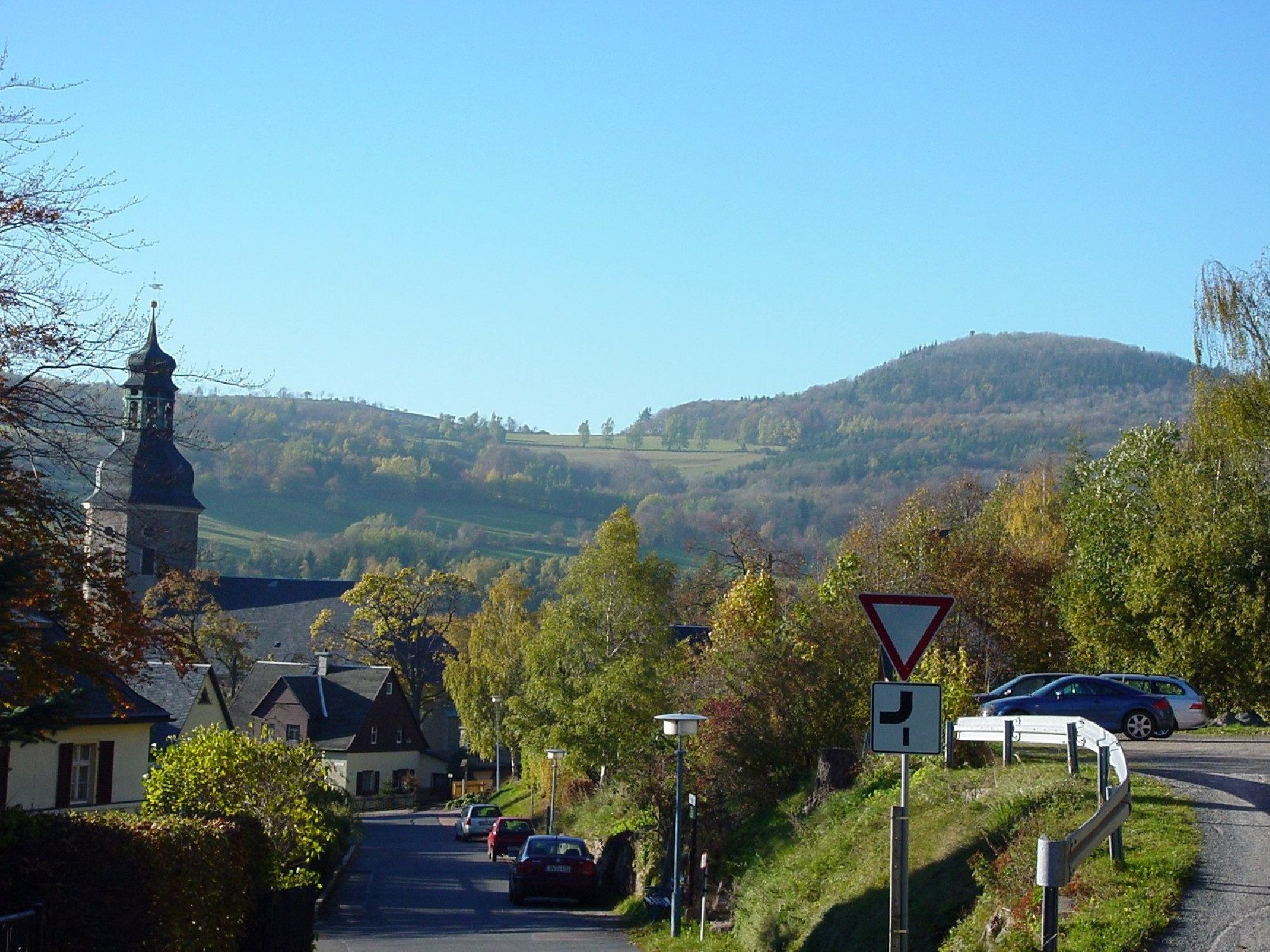 Blick zum Geisingberg