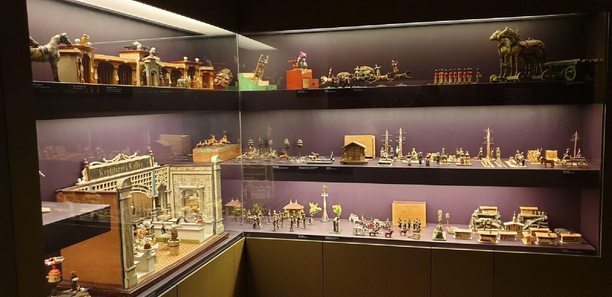Ausstellungsobjekte Manufaktur der Träume