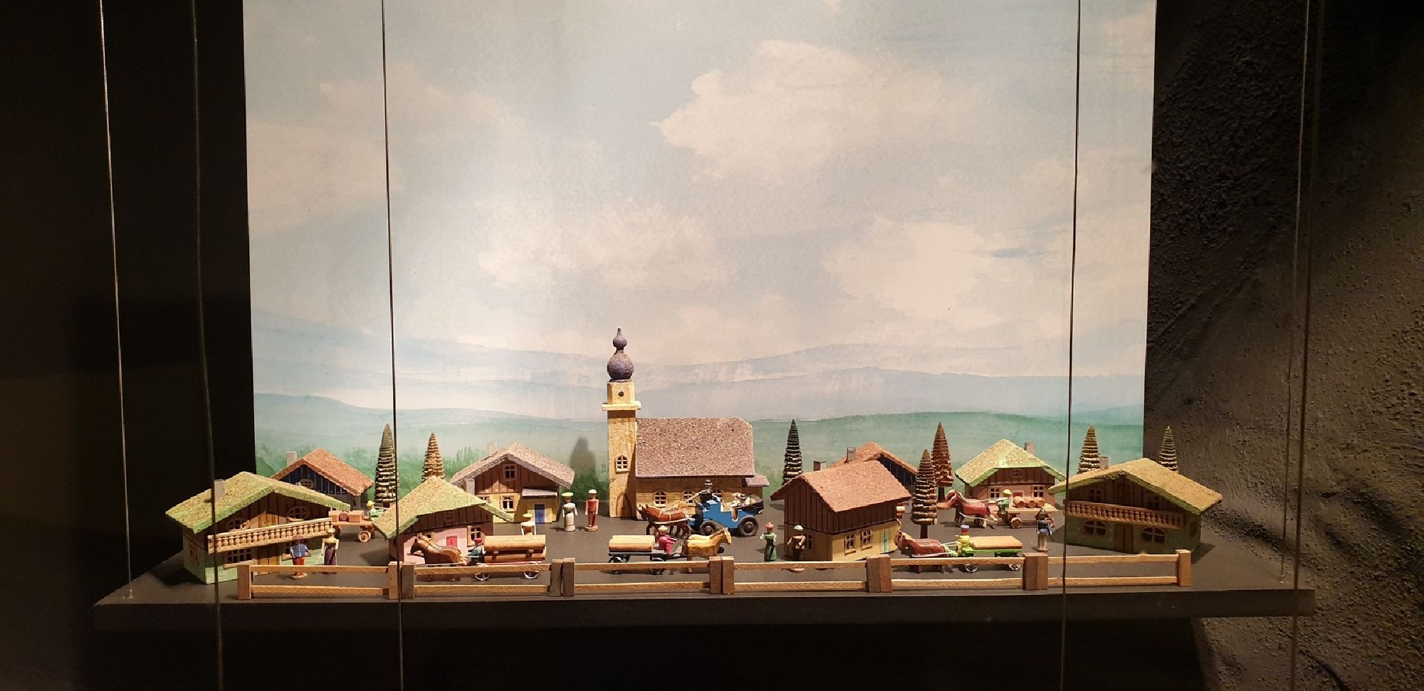 Miniaturen-Schnitzkunst