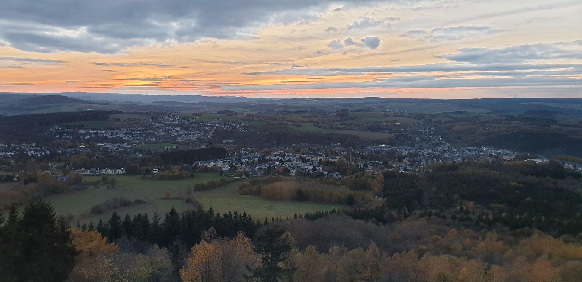 Aussicht vom Pöhlberg