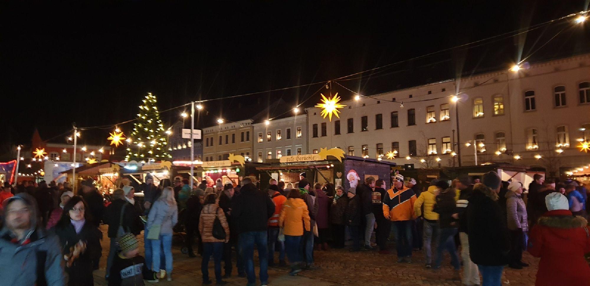 Weihnachtsmarkt in Eibenstock