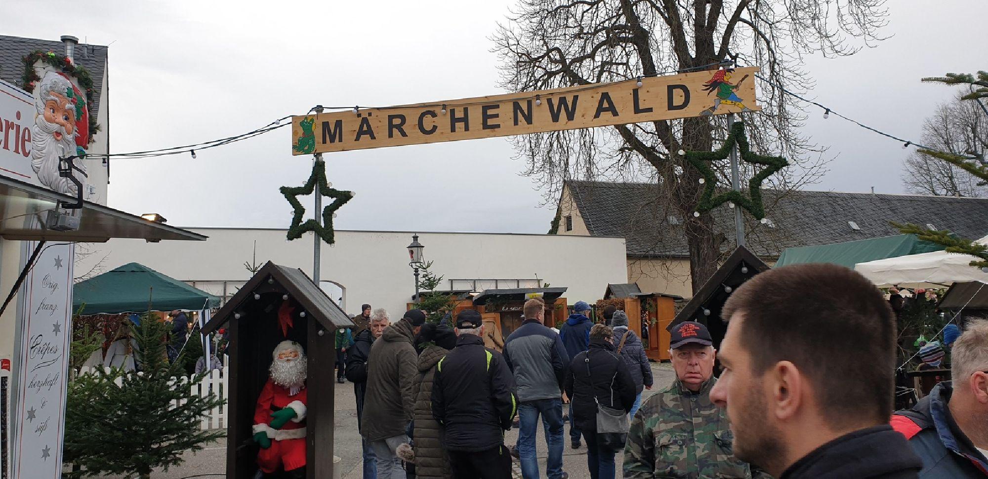 Märchenwald auf dem Zschopauer Weihnachtsmarkt