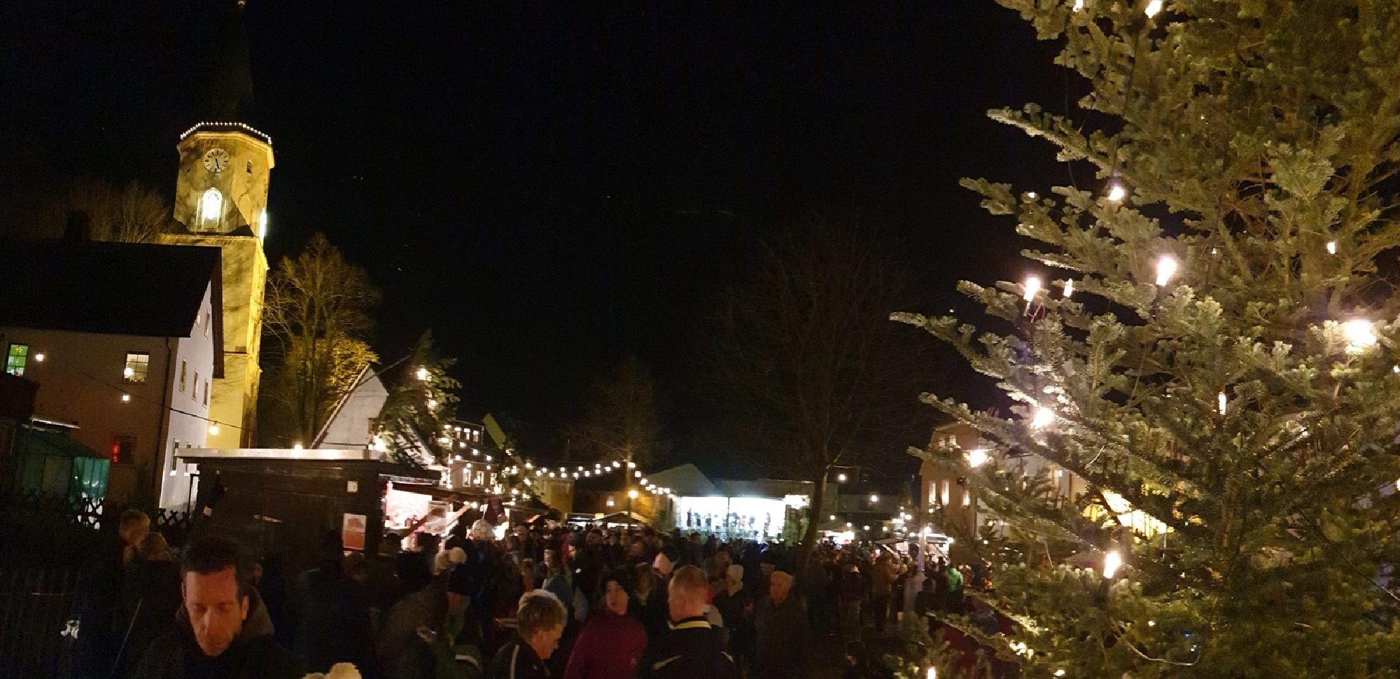 Weihnachtsmarkt Sayda