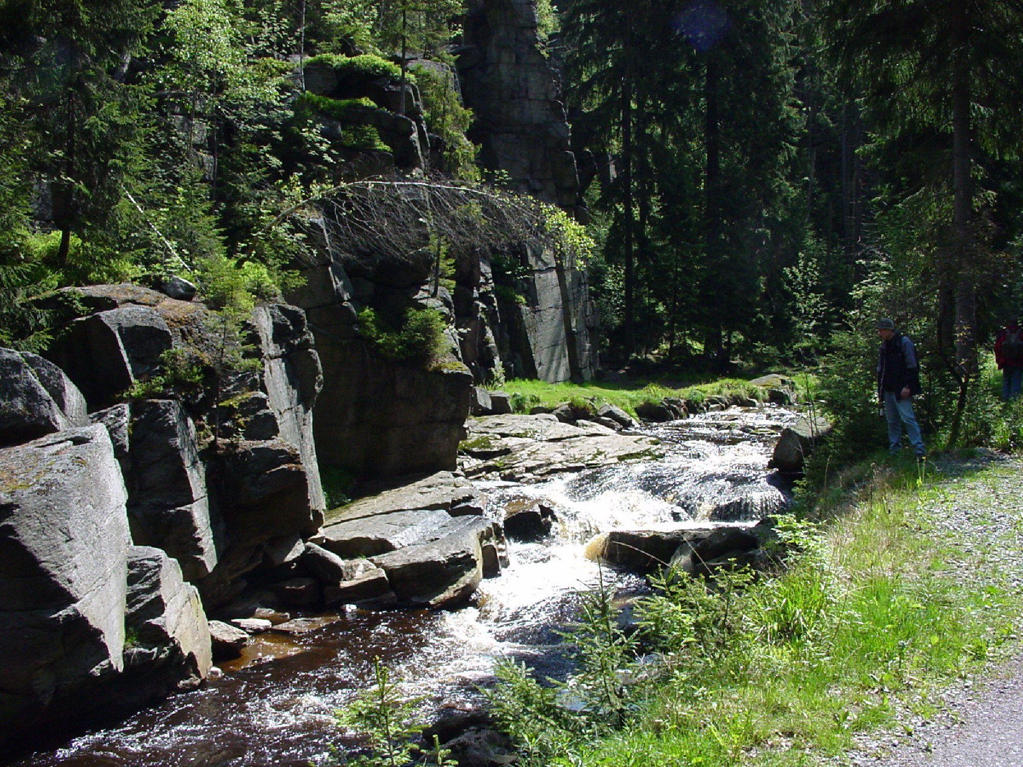 Schwarze Pockau im Schwarzwassertal