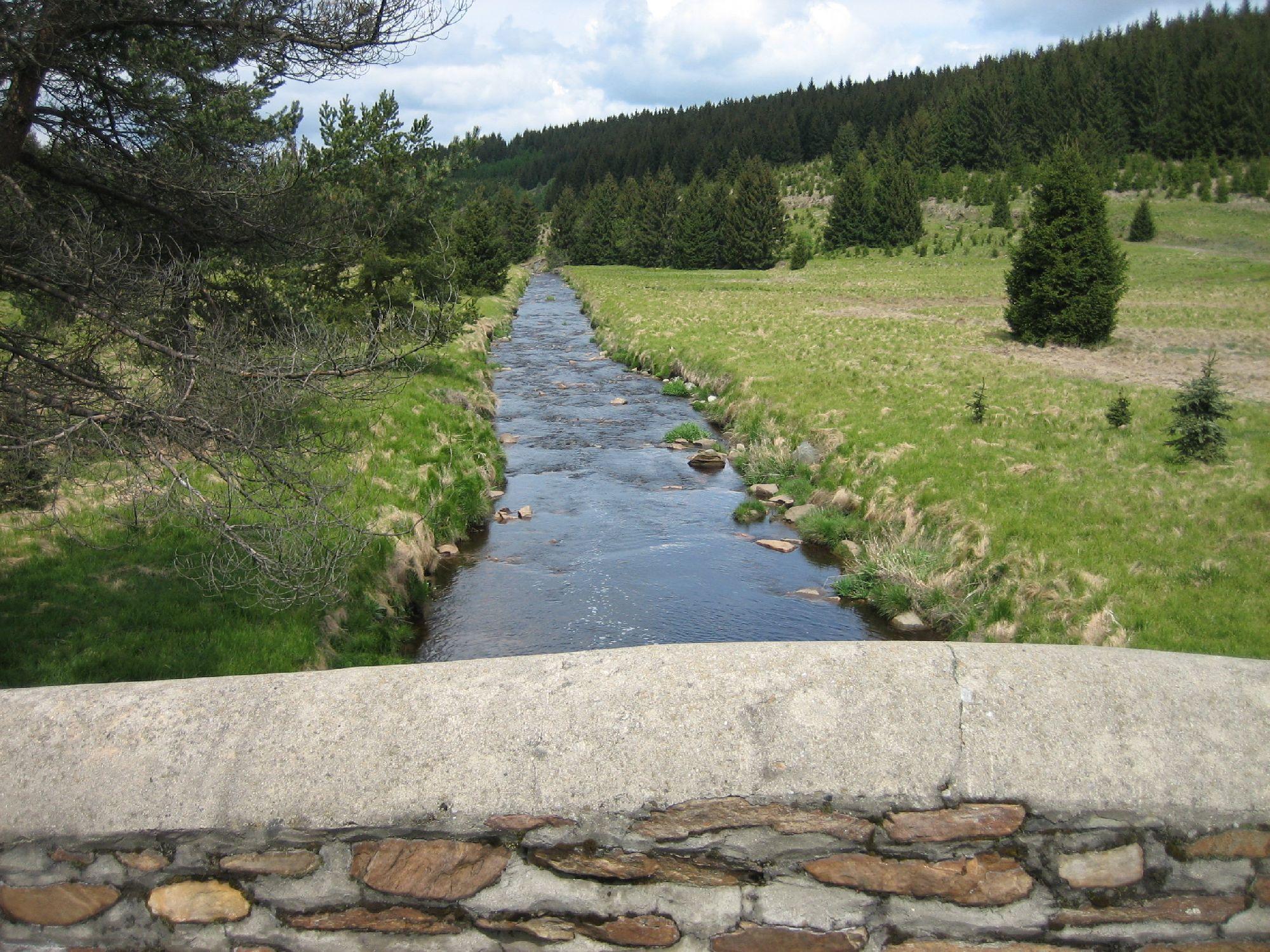 Schwarzwassertal Steinerne Brücke