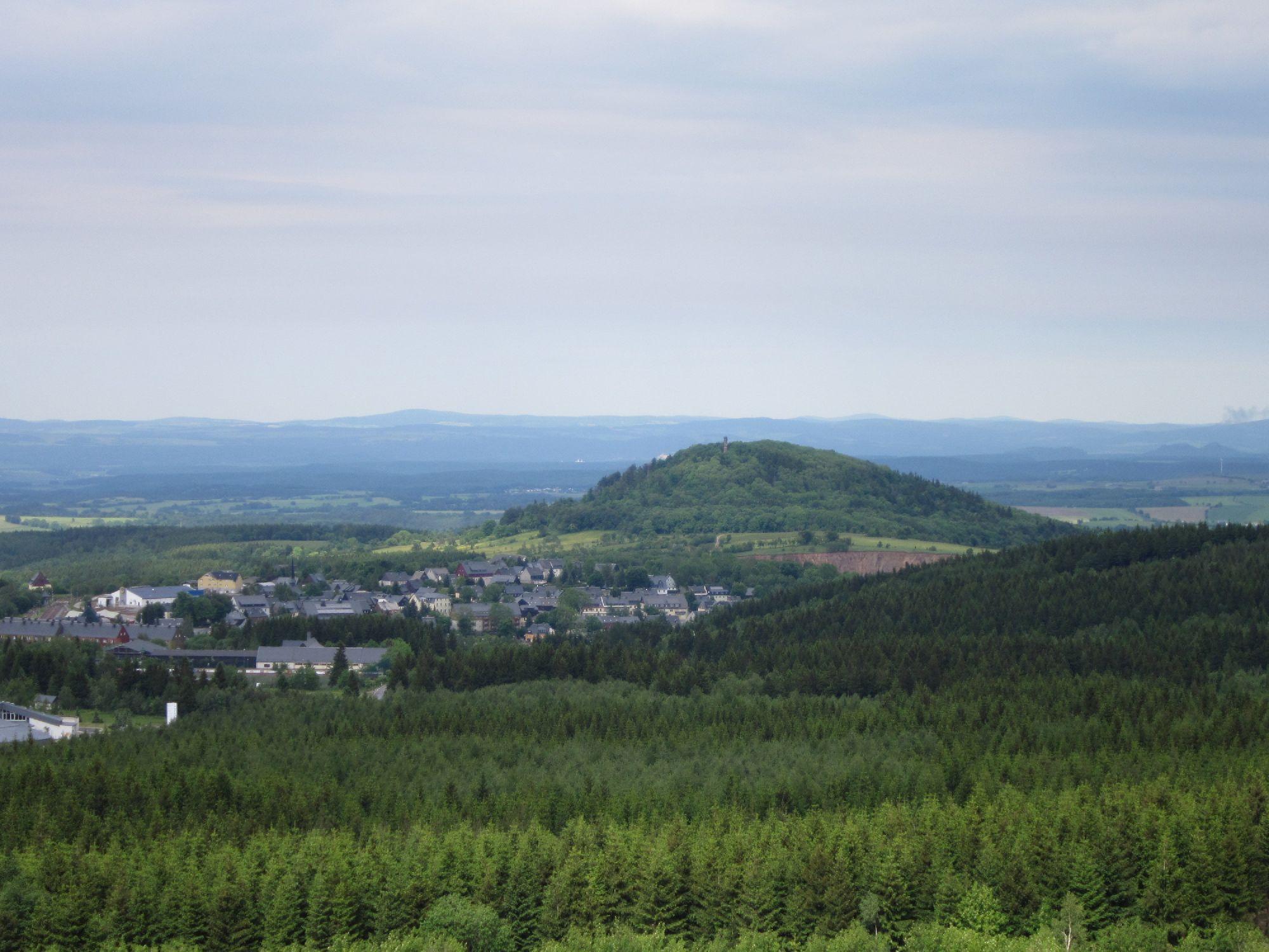Blick zum Geising Berg