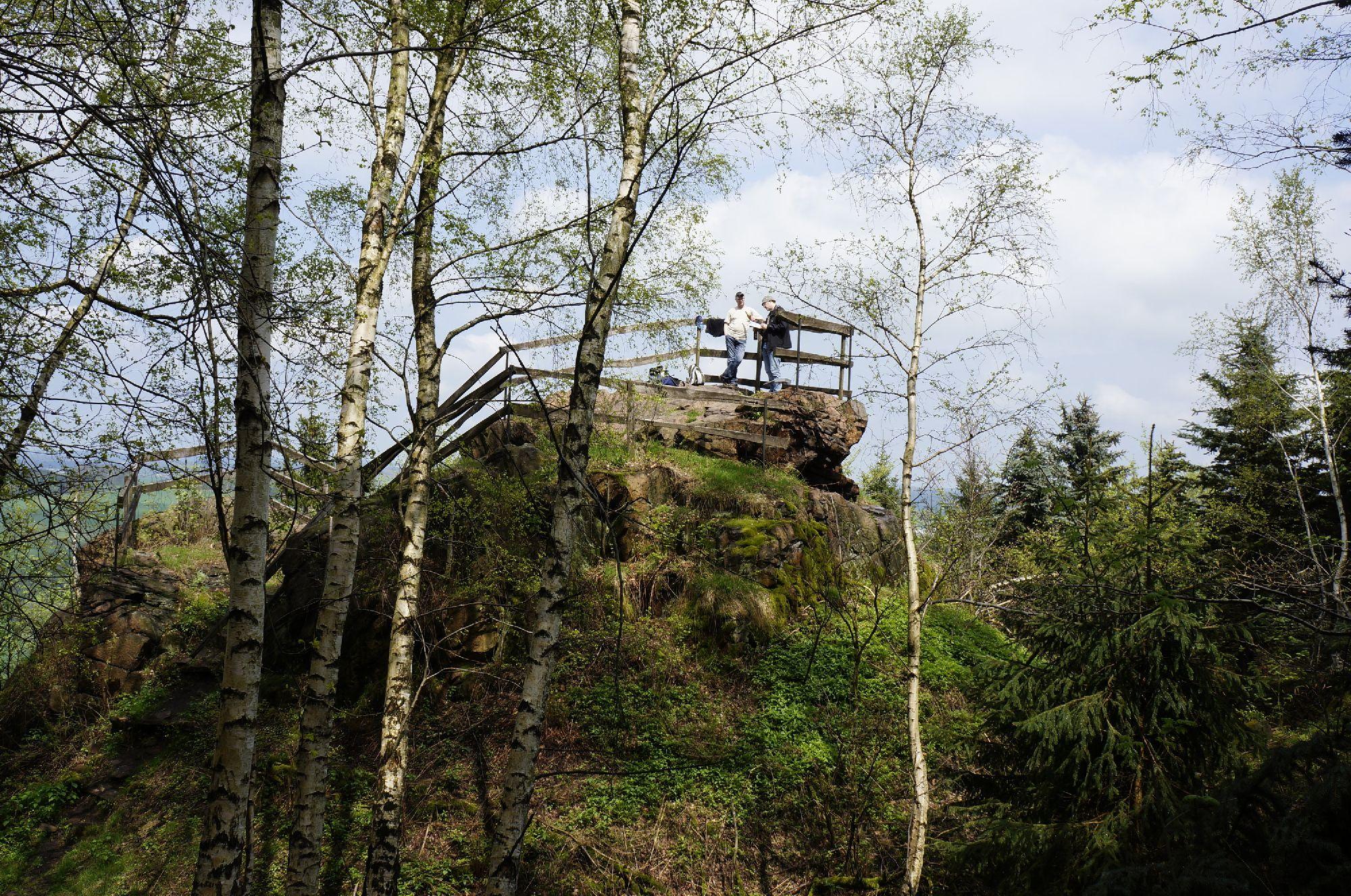 Wanderung zum Burgberg