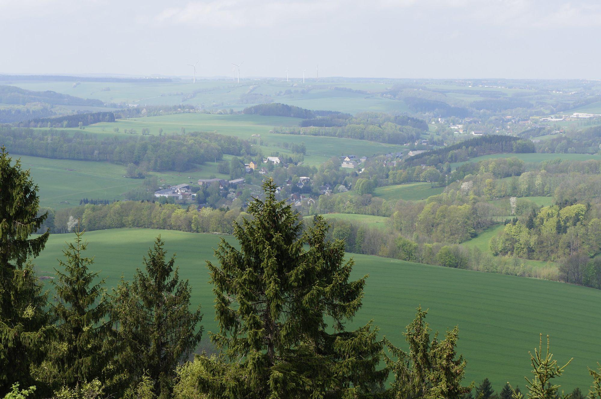 Ausblick vom Burgberg