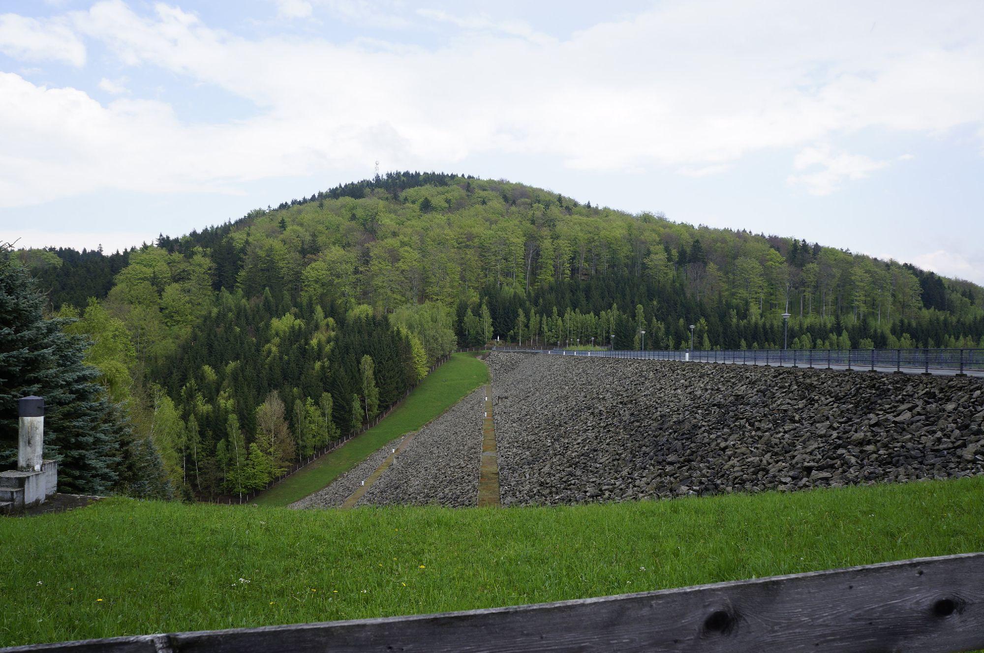 Staumauer Talsperre Lichtenberg
