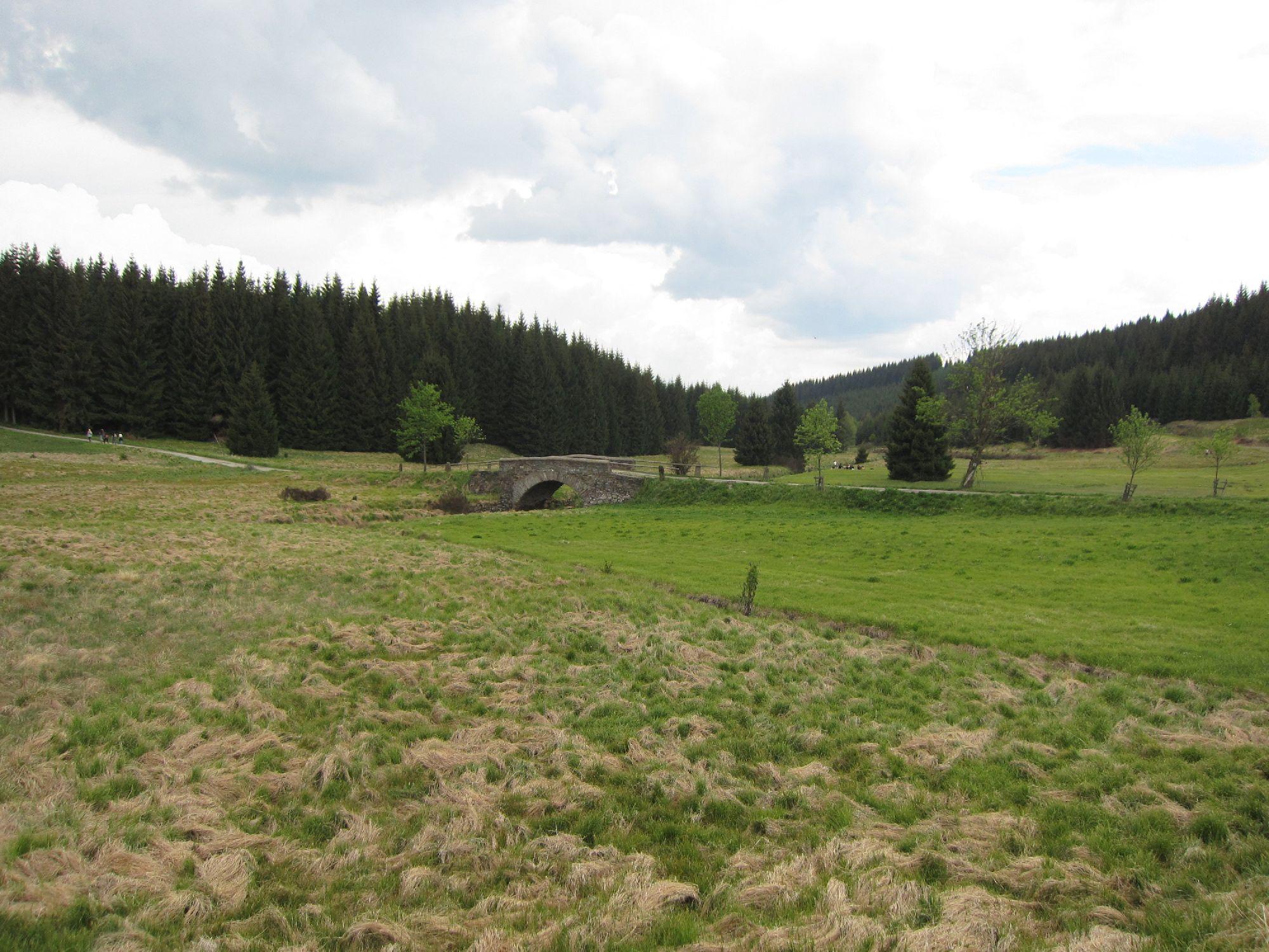 Steinerne Brücke im Schwarzwassertal