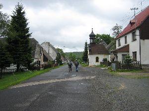 Wanderung auf tschechischer Seite zum Beerhübel