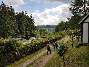 Kleingartenanlagen bei Olbernhau
