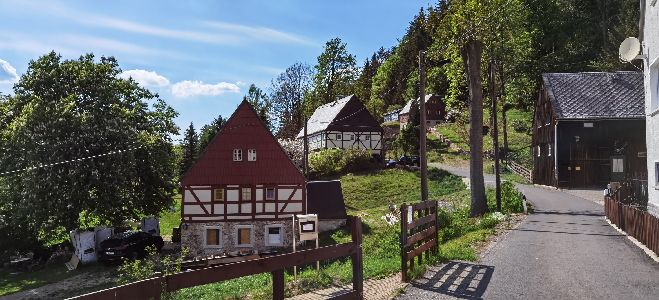 auf dem Schanzenweg nach Rechenberg