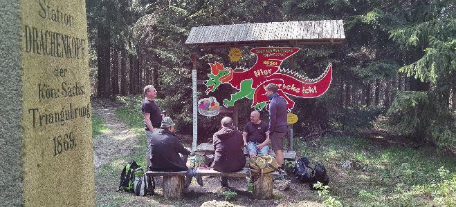 auf dem Drachenkopf / Kannelberg